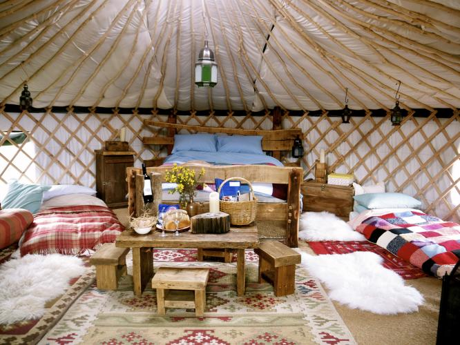 our yurt interiors | wild northumbrian tipis and yurts